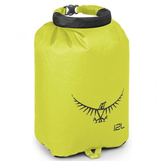 Ultralight DrySack 12 Liter electric lime
