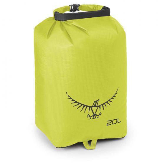 Ultralight DrySack 20 Liter electric lime