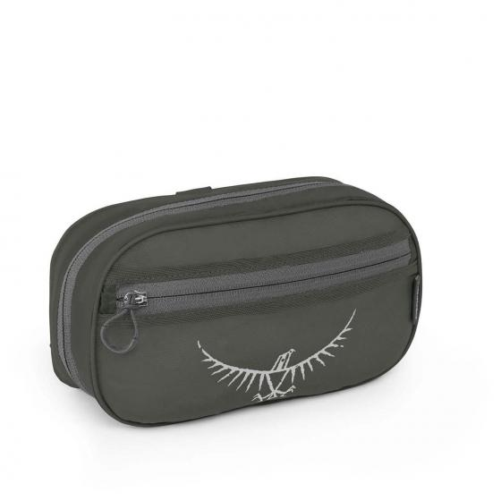 Ultralight Washbag Zip 23 cm shadow grey