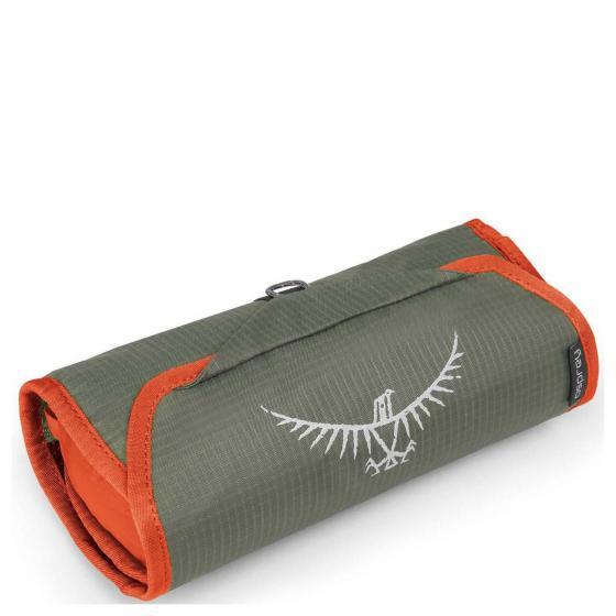 Ultralight Washbag Roll 38 cm poppy orange