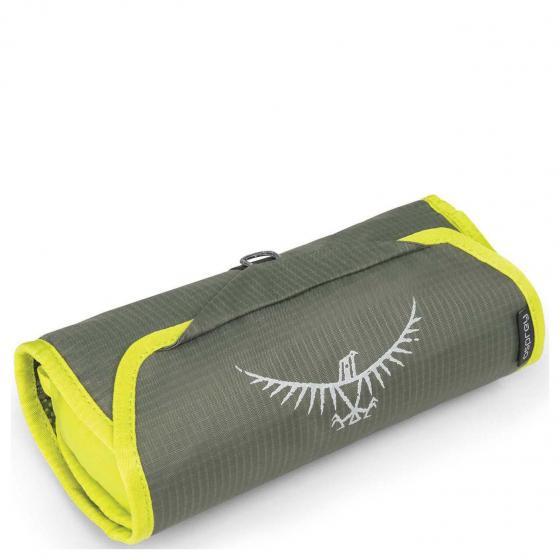 Ultralight Washbag Roll 38 cm electric lime