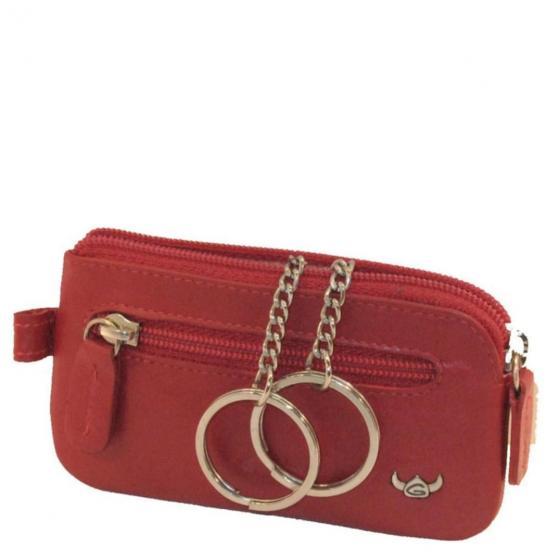 Polo Schlüsseletui 10,5 cm rot