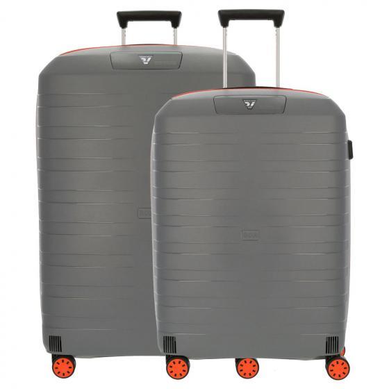 Box Young 2.0 4-Rollen-Trolley-Set M/L orange piombo