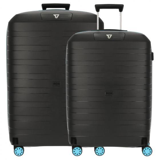Box Young 2.0 4-Rollen-Trolley-Set M/L blue black