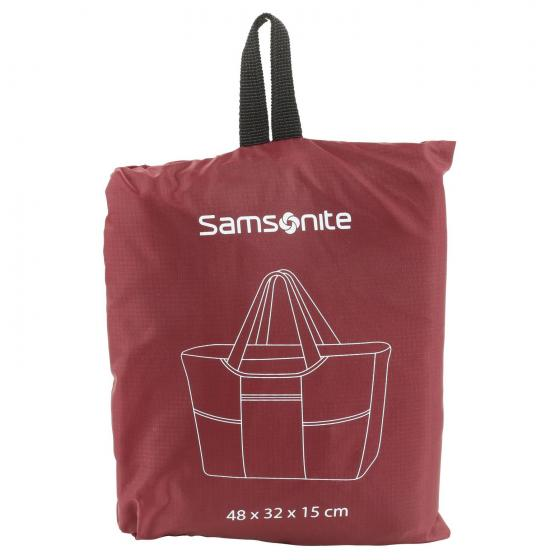 Packing faltbare Tasche 48 cm red