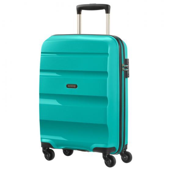 Bon Air Spinner 4-Rollen-Kabinentrolley S Strict 55 cm deep turquoise
