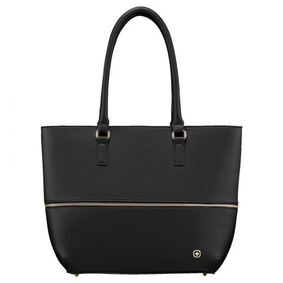 601077 Eva 13 W Shopper 40 cm erw. black