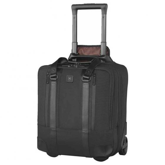 Lexicon Professional Shenton 2-Rollen Businesstrolley 38 cm schwarz