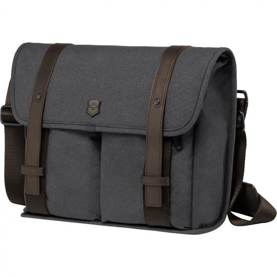 Architecture Urban Lombard Mini Laptop Messenger 37 cm 11 grey-brown