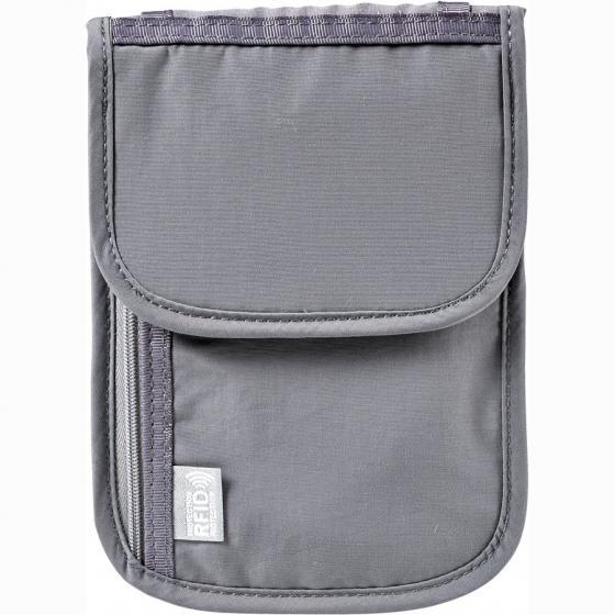 604589 Brusttasche für Reisedokumente RFID grey