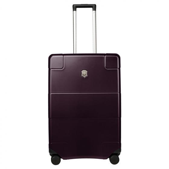 Lexikon Medium Hardside Case 4-Rollen-Trolley 68 cm beetroot