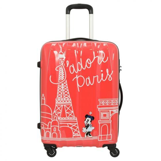 Disney Alfatwist 2.0 4-Rollen-Trolley M 65/24 Take Me Away Minnie Paris