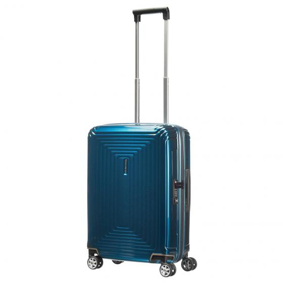 Neopulse 4-Rollen-Kabinentrolley 55 cm metallic blue