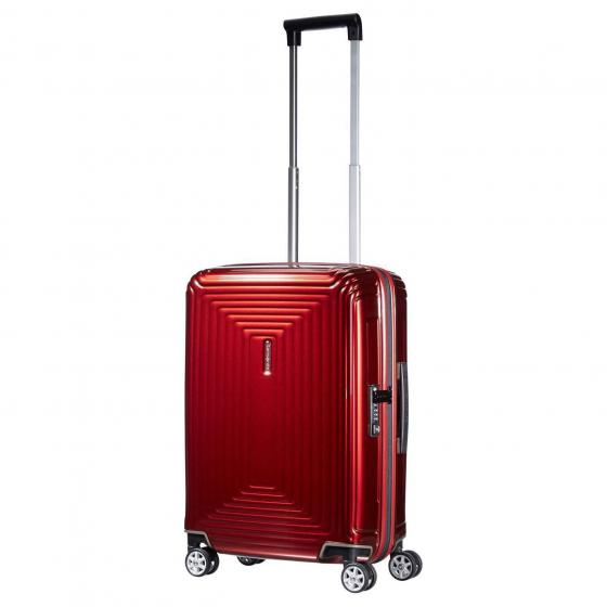Neopulse 4-Rollen-Kabinentrolley S 55 cm metallic red