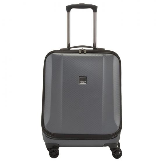 "Xenon Deluxe 4-Rollen Businesstrolley 17"" 55 cm graphit"