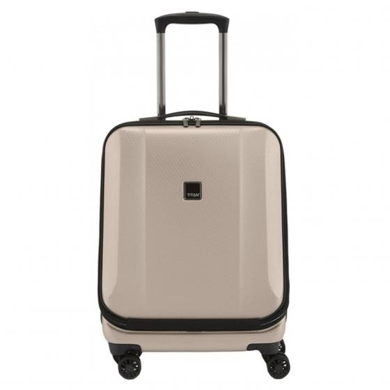 "Xenon Deluxe 4-Rollen Businesstrolley 17"" 55 cm champagne"
