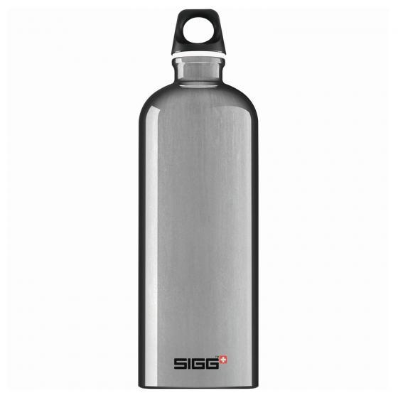 SIGG Traveller Trinkflasche Aluminium 1,0 L 25.7 cm alu