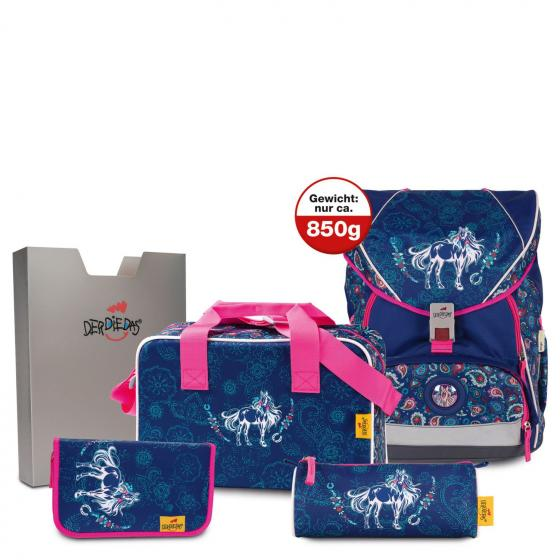 ErgoFlex XL Schulrucksack Set 5 tlg. Beauty