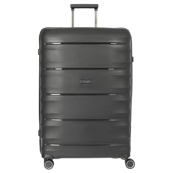 Highlight 4-Rollen-Trolley L 75 cm black