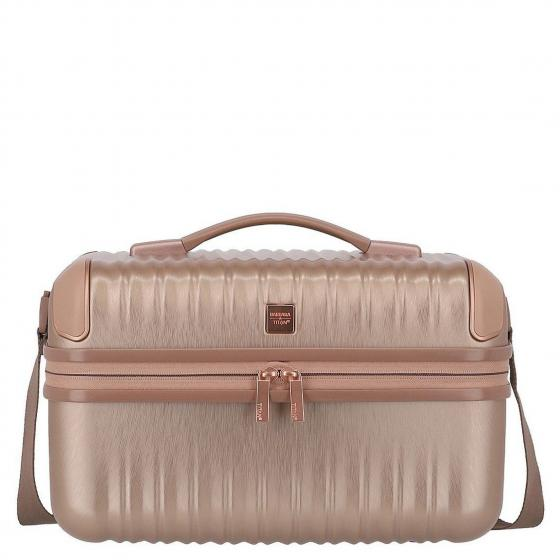Barbara Glint Beauty Case 38 cm rose metallic
