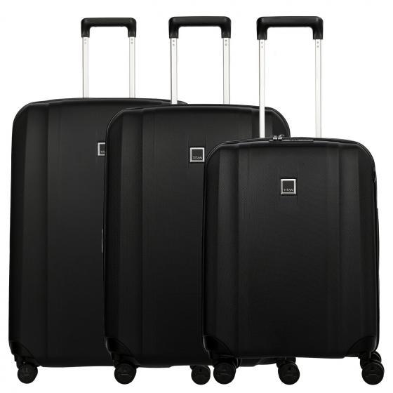 Xenon 4-Rollen-Trolley Set 3tlg. L/M/S Modell 2020 black