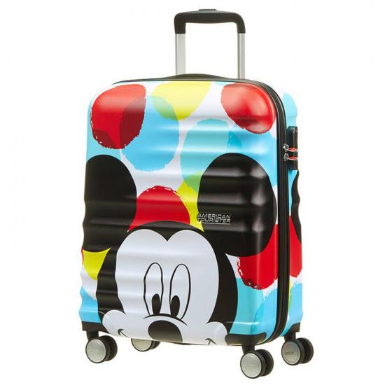 Wavebreaker Disney 4-Rollen-Kabinentrolley S 55 cm mickey close up