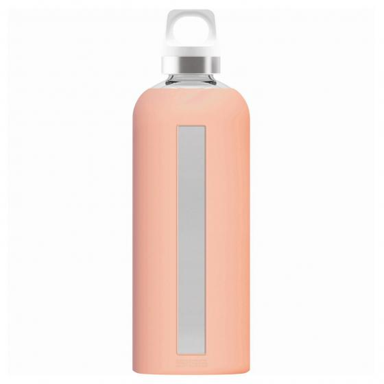 SIGG Star Trinkflasche Glas 0.85 L 26.3 cm shy pink