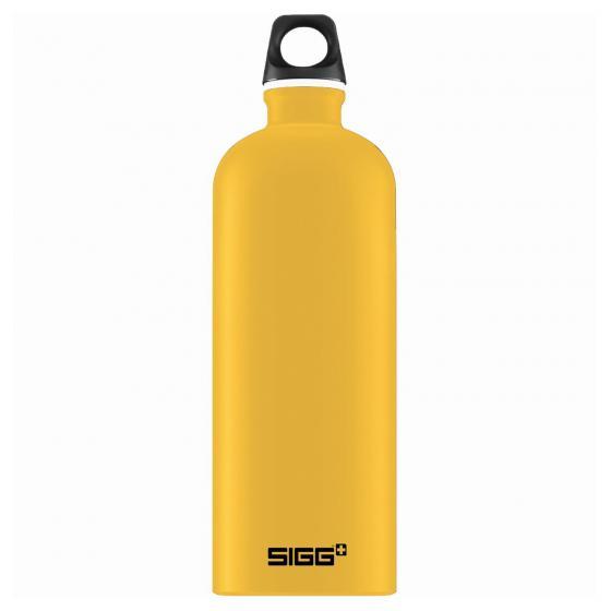 SIGG Traveller Trinkflasche Aluminium 1,0 L 25.7 cm mustard touch