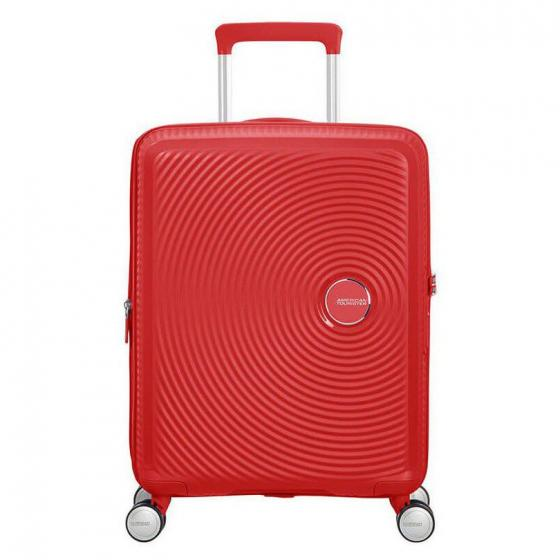 Soundbox 4-Rollen-Kabinentrolley S 55 cm erw. coral red