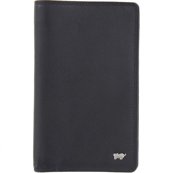 Golf Edition Brieftasche 18CS + zip 17.5 cm schwarz