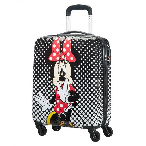 Disney Alfatwist 2.0 4-Rollen-Kabinentrolley S 55 cm Miinie Mouse Polka Dot