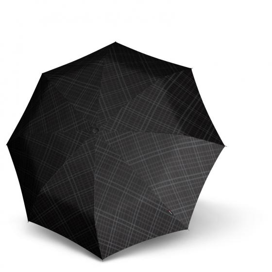 T.010 small Manual Taschenschirm / Regenschirm modern black