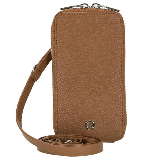 Fashion Handytasche 17 cm dark brown