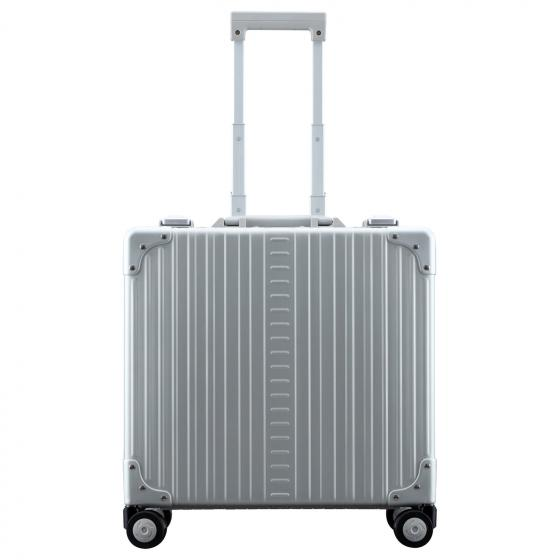 "Aluminium 2-Rollen-Businesstrolley Luxus 15"" 44.5 cm platinum"