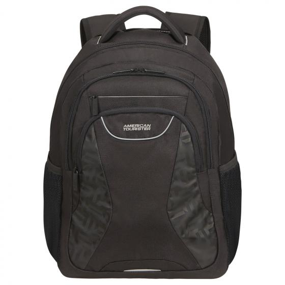 "At Work Rucksack mit Laptopfach 15.6"" 43 cm Print Tag black print"