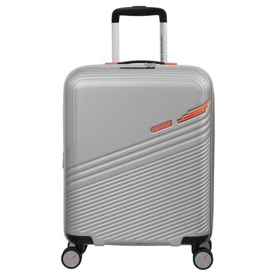 Triple Trace 4-Rollen-Trolley 67/24 cm erw. silver orange
