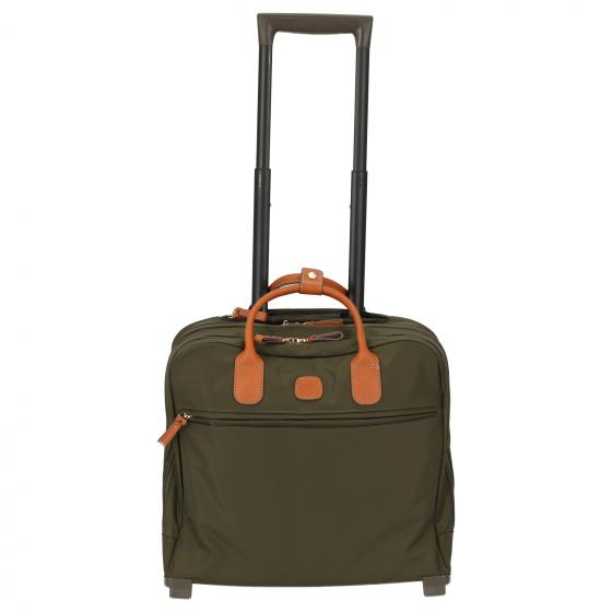 X-Travel Pilotcase 2-Rollen-Businesstrolley 40,5 cm olive