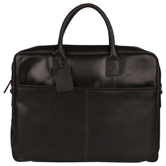 Vintage Max Worker Laptoptasche 17.3'' 44 cm black