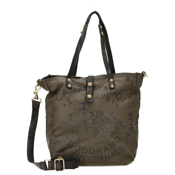 Virtus Shopper 32 cm military stained grey black print