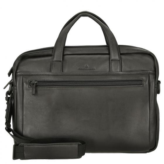 """Charlie Laptoptasche 15,6"""" 41 cm RFID black"""