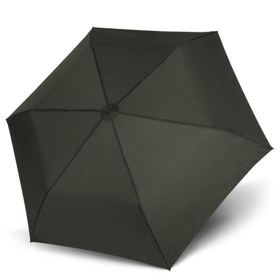 doppler Zero 99 leicht Taschenschirm / Regenschirm ivy green