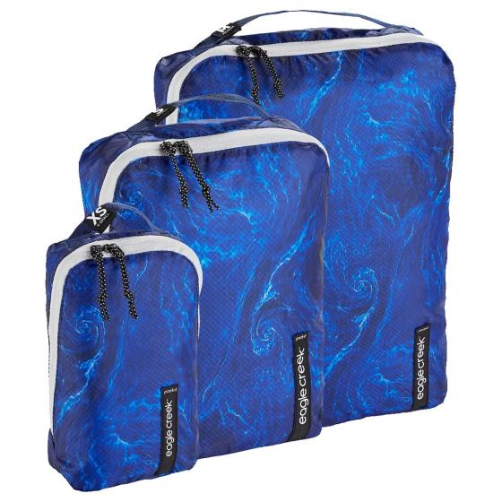Pack-It Isolate Cube Set XS/S/M ocean currents