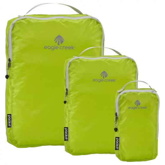Eagle Creek Pack-It Specter Cube Set XS/S/M strobe green