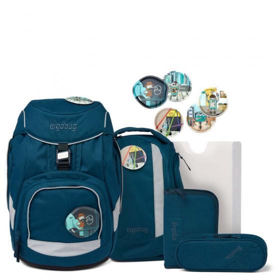 "Pack ""Eco-Hero"" Schulrucksack Set 6-tlg. RobotBär"
