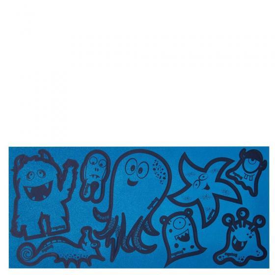 Zubehör Reflexie Sticker Set 8 tlg. blau