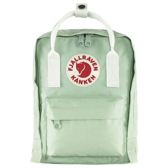 Fjällraven Kanken Mini Rucksack 29 cm mint green-cool white
