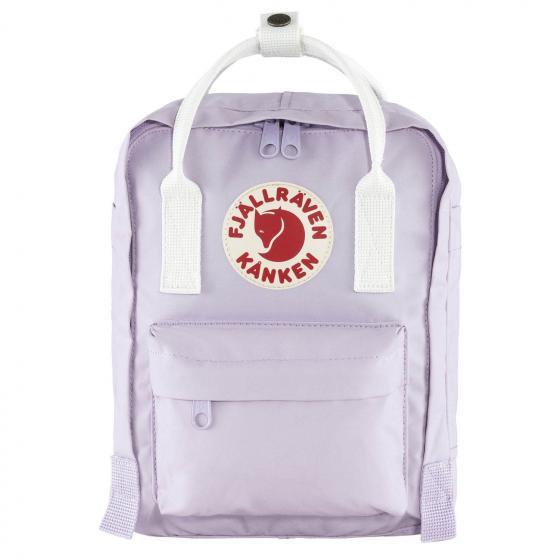 Fjällraven Kanken Mini Rucksack 29 cm pastel lavender-cool white