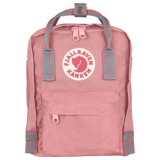 Kanken Mini Rucksack 29 cm pink-long stripes