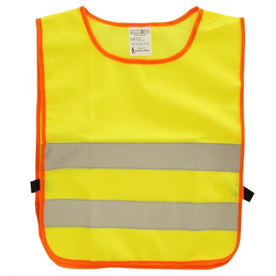 Mini Hero Sicherheitsweste für Kinder  gelb