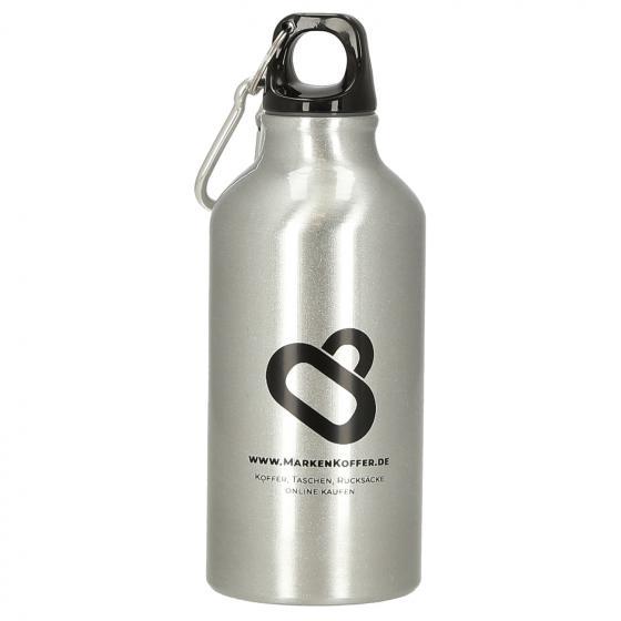 Transit Alu-Trinkflasche 400 ml silber